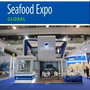 Grupo Confremar was present for the nineteenth time at the International Fair of Frozen Seafood, Conxemar