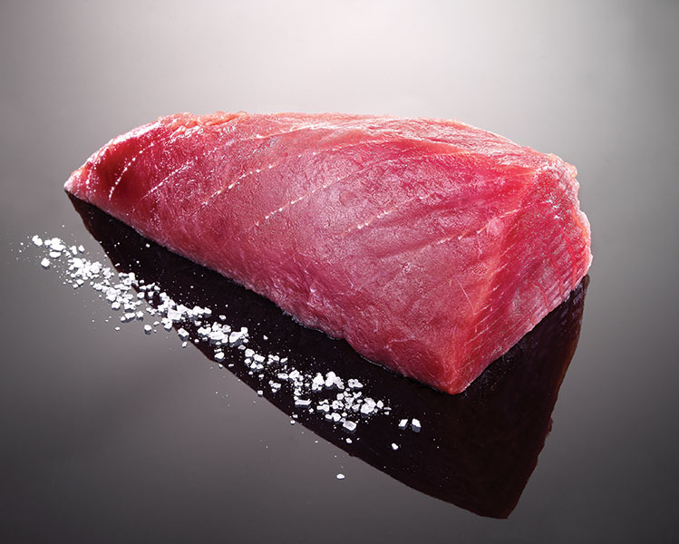Tuna fillets