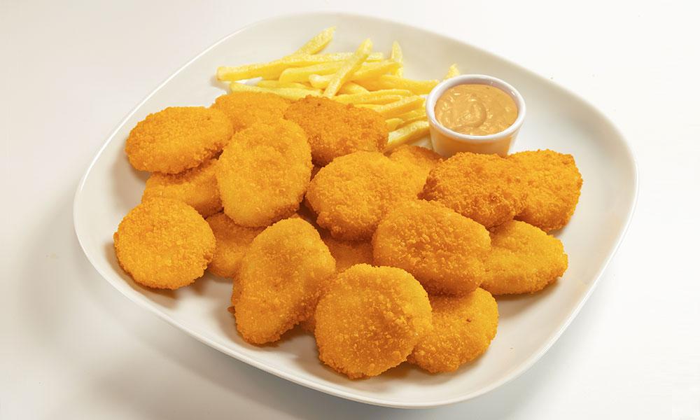 Receta salsa de queso cheddar para Nuggets de pollo