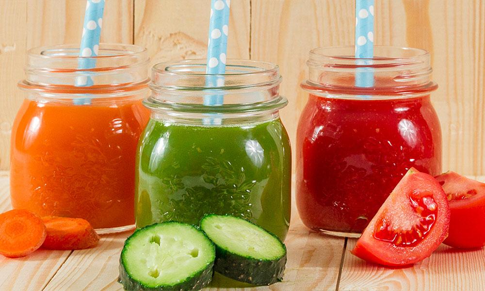 Las mejores frutas y verduras para preparar zumos
