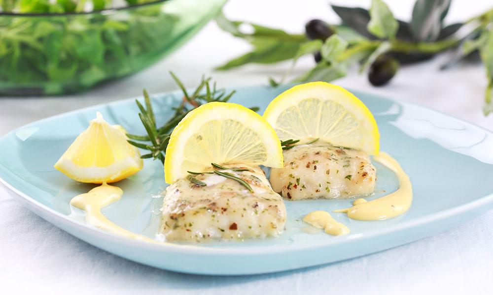 Receta de filete de merluza al limón
