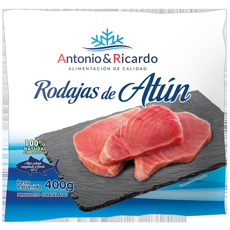 Rodajas de atún de Antonio y Ricardo
